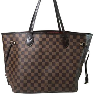 Louis Vuitton - Neverfull Damier Ebene Mm Tote bag